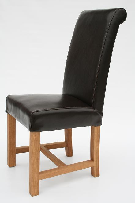 CHEAP LEATHER DINING CHAIR