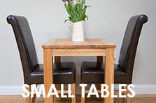 Small solid oak tables from just £99 each !